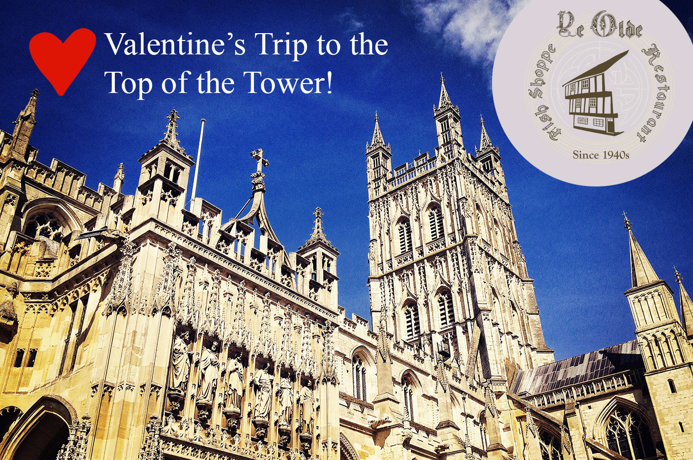 Valentine's Trip to the Top of the Tower!